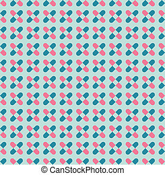 Geometric background in vintage colors