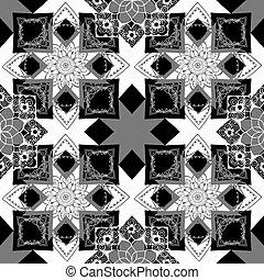 geometric background with oriental