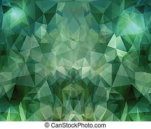 Abstract geometric background with triangular polygons. Vector