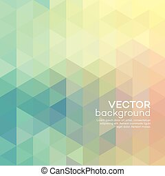 Geometric background with triangles. Vector illustration