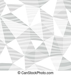 Geometric background with wavy lines pattern