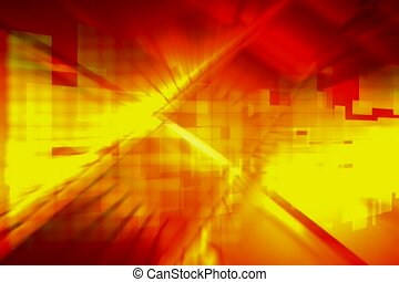 geometric, block, multi-colored