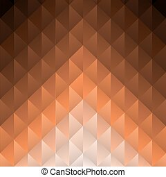 Geometric brown Vector Background