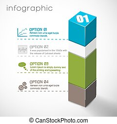 Geometric Composition Infographics