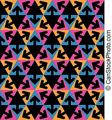 Geometric continuous background
