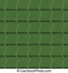 Geometric cube abstract background vector.