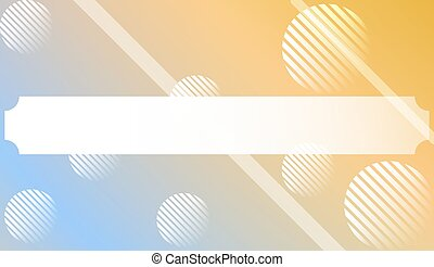 Geometric Design, Shapes. For Cover Page, Landing Page, Banner. Vector Illustration with Color Gradient.