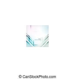 Geometric diamond shape abstract background