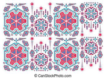geometric ethnic design vector art