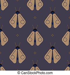 Geometric firefly geometric pattern. Minimal geometric...