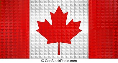 Geometric flag of the Canada