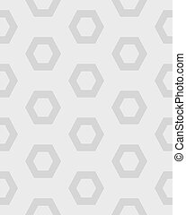gray hexagon seamless pattern
