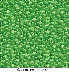 Geometric Green Backgrounds.