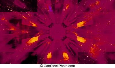 Geometric Harsh Particle loop - Looping geometric particle...