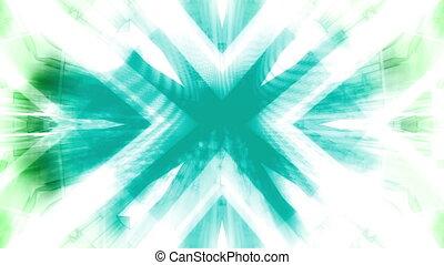 Geometric harsh white loop - Looping geometric harsh white...