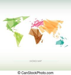 geometric map of the world