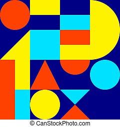 geometric modern background