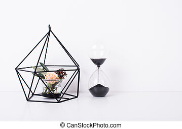 Geometric modern home decor