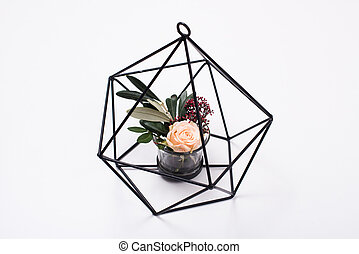 Geometric modern home decor