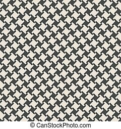 geometric monochrome seamless pattern. vector illustration -...