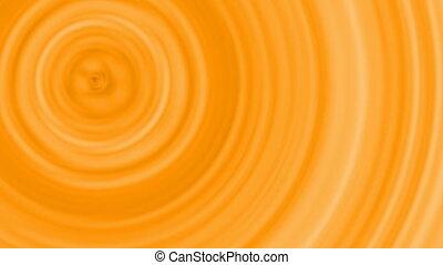 Geometric ornament, live wallpaper, abstract hypnotic orange...