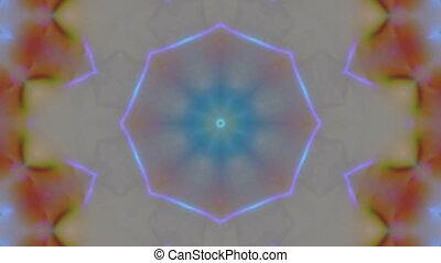 Geometric ornament, live wallpaper, slow motion...