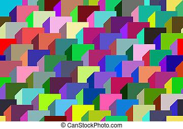 geometric ornament. - Seamless pattern vector illustration...