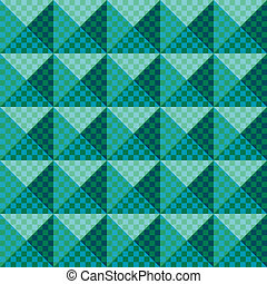 geometric ornament.Seamless pattern - Seamless pattern...