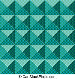 geometric ornament.Seamless pattern - Seamless pattern...