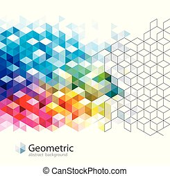 Geometric Pattern Abstract Backgrounds.