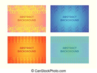 Geometric pattern background abstract modern style complex line and frame design with space for your text. vector illustration