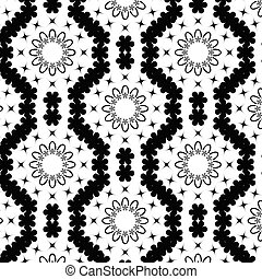 Geometric pattern background and creative illustration template