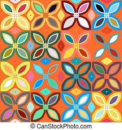 Geometric pattern - Abstract geometric seamless pattern...