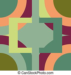 geometric pattern expressive shape ornaments graphical background
