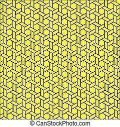 Geometric pattern. Line art