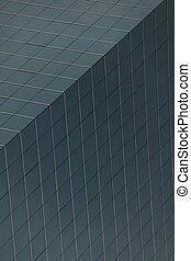 Geometric pattern of windows on gre