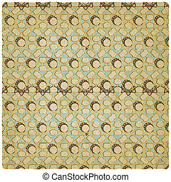 geometric pattern old background