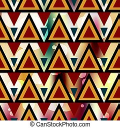 Geometric pattern on a colored background vector illustration
