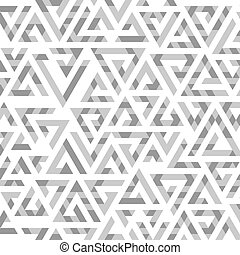 Geometric pattern on a white background.