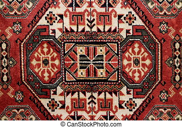 geometric pattern Persian carpet