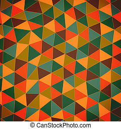 Geometric pattern. Texture with triangles.Mosaic. Abstract...