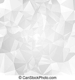 Geometric pattern, triangles background.