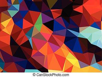 geometric pattern, triangles background, polygonal