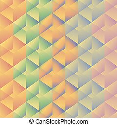 Geometric pattern with colorful rectangles. Vector illustration