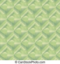 Geometric pattern with green rectangles. Vector illustration