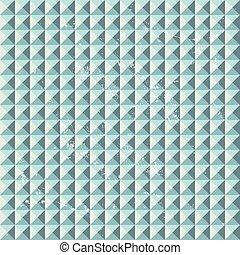 geometric pattern with grunge