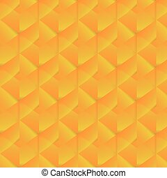 Geometric pattern with orange rectangles. Vector illustration