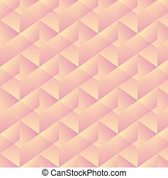 Geometric pattern with pink rectangles. Vector illustration
