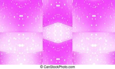 Geometric Pink VJ Loop
