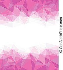 Geometric purple and White Abstract Vector Background for Use in Design.